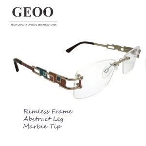 Stainless Abstract Optical Frame (XS5589 C3) pictures & photos