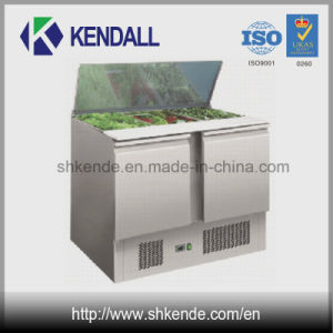Stainless Steel Refrigerated Pizza Worktable/ Fridge/Refrigerator