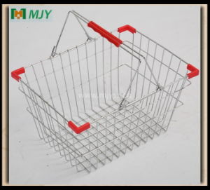 Wire Shopping Basket Mjy-Ts02 pictures & photos