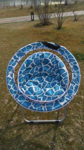 Camping Folding Outdoor Leisure Moon Chair pictures & photos
