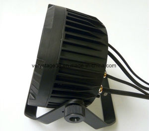 New RGBW 4in1 Slim PAR LED 18X10 IP65 LED Flat PAR pictures & photos