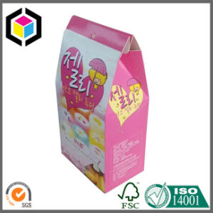 Glossy Gable Style Cardboard Paper Candy Packaging Box pictures & photos