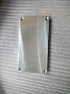 Customized CNC Machining Part with Gray Coating pictures & photos