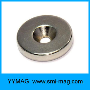 Strong Magnet Countersunk Ring Loop Rare Earth Neo Neodymium Magnet pictures & photos