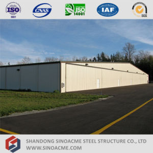 Gable Frame Large Span Aircraft Hangar pictures & photos