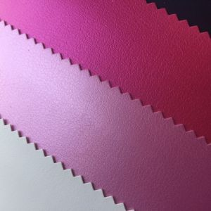 0.6mm Elastic PU Leather for Jewel Case Box pictures & photos