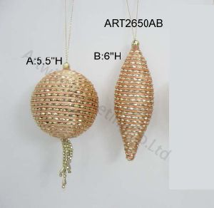 Christmas Decoration Tree Ball Ornaments-2asst pictures & photos