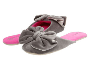 Lady′s Soft Touch Home Slippers Plush Slipper