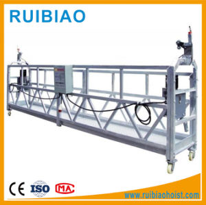 Wire Rope Aluminum Suspended Working Platform (ZLP/500/630/800/1000) pictures & photos