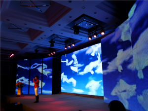 P7.62 Inoor LED Display Screen Stage Background LED Video Wall pictures & photos