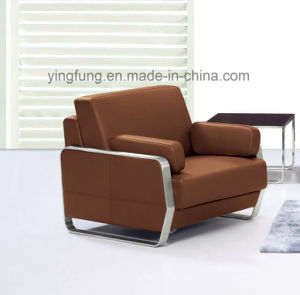 Modern Style Waiting Room PU Leather Office Sofa (SF-6022) pictures & photos