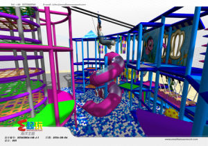 Undersea Themed Indoor Playground Equipment with TUV Certificate pictures & photos