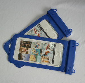 Free Sample OEM PVC Plastic Zipper Bag for Cell Phone Case pictures & photos
