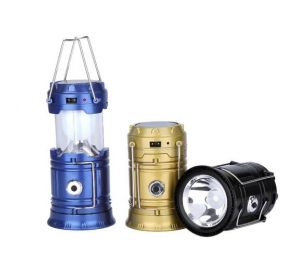 Four Colors Camping Outdoor Emergency Solar LED Foldable Light pictures & photos
