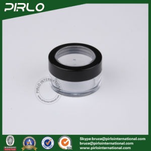 50g ABS Plastic Clear Cosmetic Loose Powder Jar pictures & photos