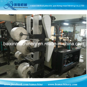 Heat-Sealing & Cold-Cutting Plastic Bag Making Machine 4 Lines 6 Lines 8 Lines pictures & photos