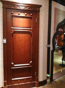 Solid Wood Door for Interior (DS-024) pictures & photos