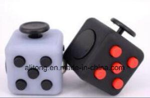 Colorful Fidget Cube a Vinyl Desk Toy Anti-Irritability Magic Cubes