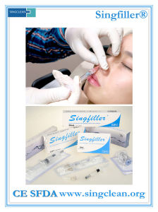 Ce Singfiller Hyaluronic Acid Injection Dermal Filler for Nose Use pictures & photos