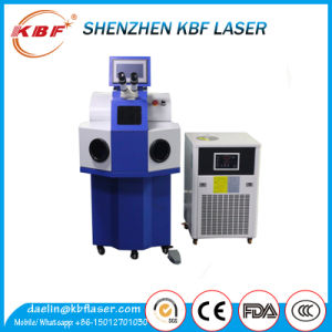 Standing YAG High Precision Laser Spot Welding Machine pictures & photos