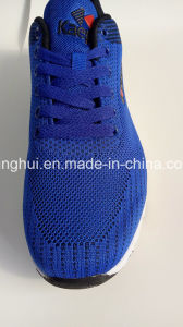 Fly Knit Upper EVA Outsole Sport Shoes Footwear for Women and Men pictures & photos