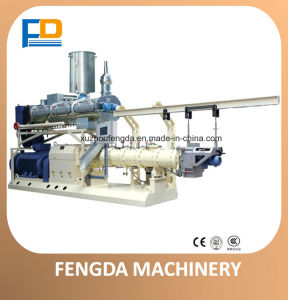 Twin Screw Wet Steam Feed Extruder (TSE68) for Processing Machine pictures & photos