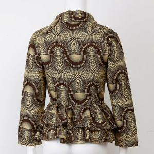 Custom Wax Print Fabric African Clothes Plus Size Women Jacket pictures & photos