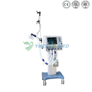 Best Price High Quality 10.4′ LCD Screen Mobile Adult First Aid Ventilator pictures & photos