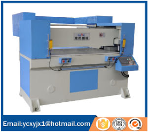 100t Automatic Receding Head Hydraulic Cutting Machine for Rubber  pictures & photos