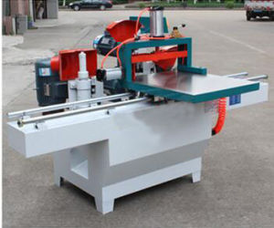 Five Saws Wood Tenon Making Machine with Two Guide Rails pictures & photos