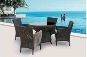 Rattan Outdoor Table and Chair pictures & photos