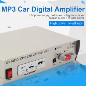 Professional Cool Fashionable Powered Speaker Amplifier for Car pictures & photos