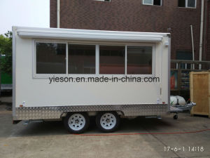 Hot Sale Mobile Kitchen Food Van pictures & photos
