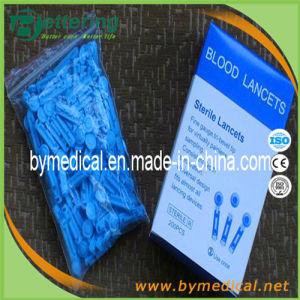 Disposable Sterile Plastic Twist Top Blood Lancet pictures & photos