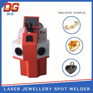 200W China Best External Jewelry Laser Spot Welding Machine pictures & photos