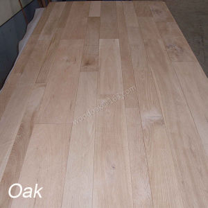 China wood flooring solid white oak unfinished hardwood for Different width hardwood flooring
