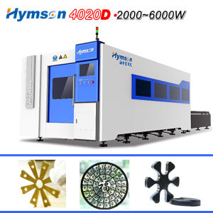 Ipg Fiber Cutter Laser Machine with 1-20mm Metal Processing pictures & photos
