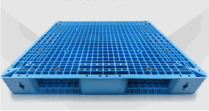 1200*1100*150mm Plastic Pallet Heavy Duty Static 6t Grid Double Side Plastic Tray for Warehouse Products (ZG-1211) pictures & photos