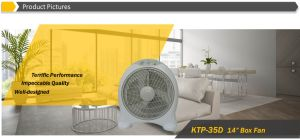 """Popular 14"""" Round Shape Box Fan with 2 Hours Timer pictures & photos"""