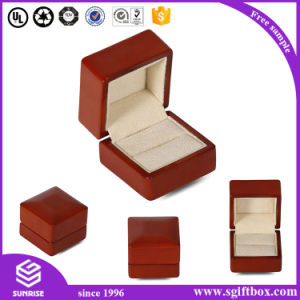 Luxury Handmade Wood Paper Packaging Jewelry Gift Box pictures & photos