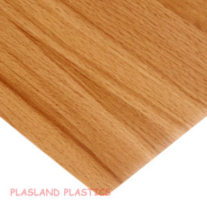 Vinyl Wood / PVC Wood Sheet pictures & photos
