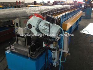 Flying Saw Cutting Door Shutter Roll Forming Machine pictures & photos