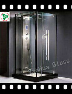 10mm Clear Frosted Shower Tempered Glass pictures & photos