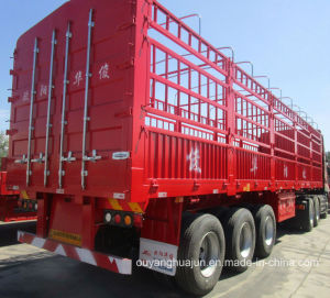 Stake Semitrailer with Short Locks pictures & photos