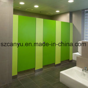 Water-Proof Safey Toilet Wooden Partition pictures & photos