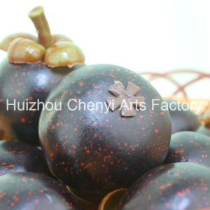 Sell High Simulation of Mangosteen Artificial Fruit pictures & photos