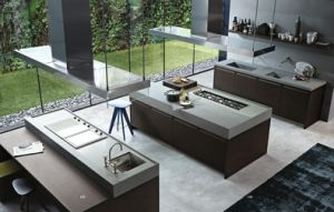 Customized White Modern Kitchen Furniture pictures & photos