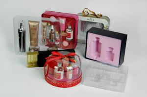 Clear Plastic Outer Packaging Box for Cosmetics pictures & photos
