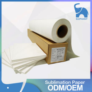 Hot Selling Good Quality Transfer Roll Paper Sublimation for T-Shirt pictures & photos