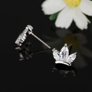 Fashion Jewelry -Lady Unique Crystal Zircon Stud Earrings pictures & photos
